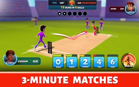 Hitwicket Superstars MOD APK 3.5.2 [Easy Wins] Cricket Strategy 10