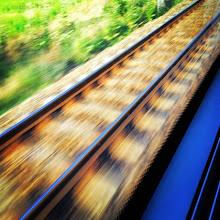Photo: Train ride #intercer #train #rails #railway #romania #speed #infinite #parallel #lines #transportation #blurry #life #beautiful #road #way - via Instagram, http://ift.tt/1ptbkC9