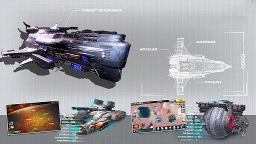 Ark of War: Galaxy Pirate Fleet  captures d'u00e9cran 19