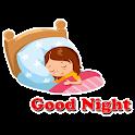 Good Night Stickers - WAStickerApps icon