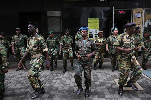 WATCH | MK veterans dance outside court in support of Jacob Zuma