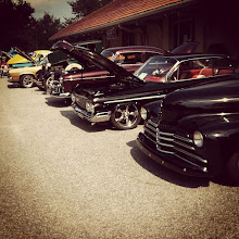 Photo: Car show and BBQ in downtown Greer this afternoon