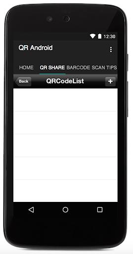 QR Android 1.7 screenshots 4