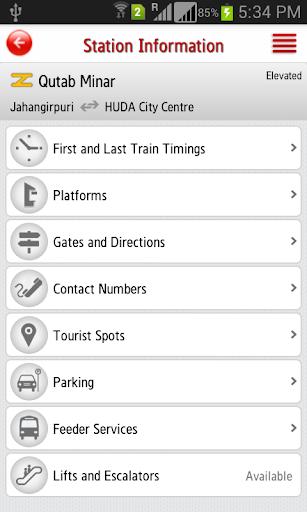 Delhi Metro Rail 6.3 screenshots 7