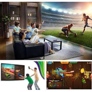 Telecomanda Wireless Air Mouse TV Box Android si PC, Andowl Q-A259