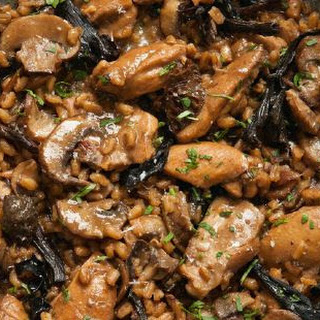 Chicken And Spelt Risotto