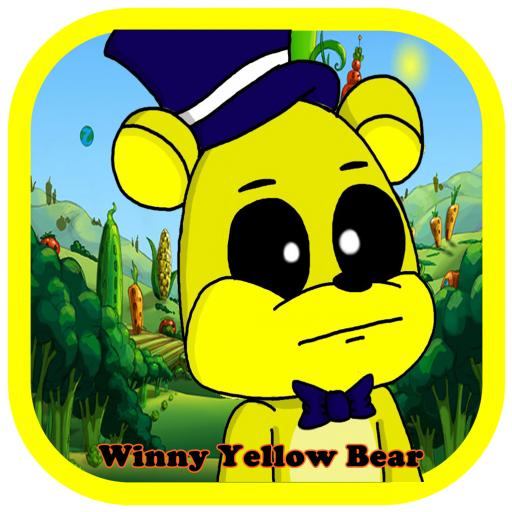 Winny Yellow Bear Running Hd