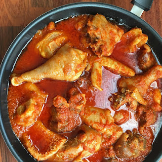 Goat Meat & Chicken Stew.