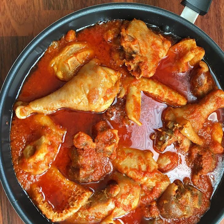 Goat Meat & Chicken Stew