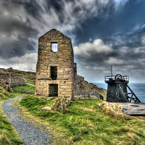 old mine by Mark West - Landscapes Travel