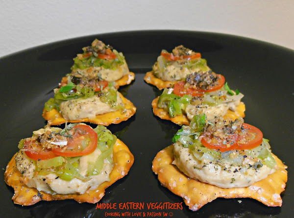 Middle Eastern Veggitizers Recipe