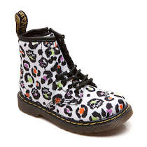 Dr Martens Brooklee Leopard Canvas BOOTS