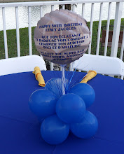 Photo: Persolalize your centerpiece with a special message.