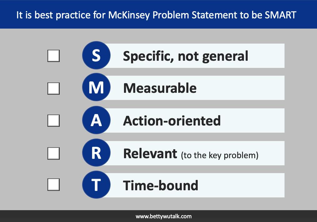 McKinsey SMART 原則