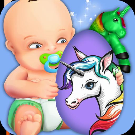 Rainbow Unicorn Surprise Eggs (game)