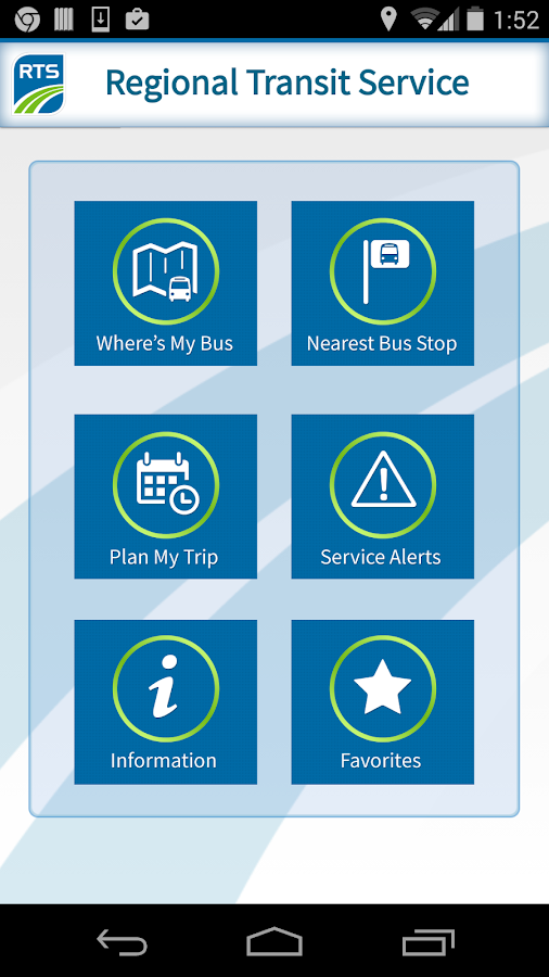 RTS Bus App Android Apps on Google Play – Map My Trip App