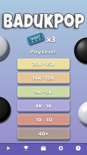 BadukPop - Fun Go / Baduk / Weiqi Problems Game 1.7.0 screenshots 2