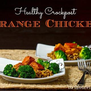 Healthy Crockpot Orange Chicken