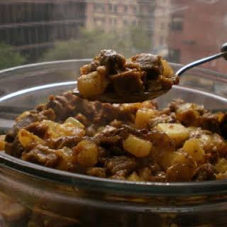 Mustard Lamb Curry.