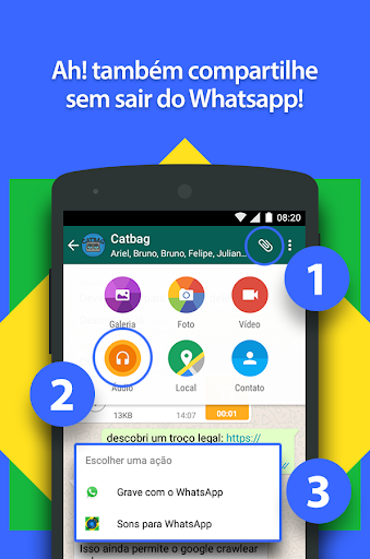 Sons Engrau00e7ados pra WhatsApp 1.15 screenshots 6