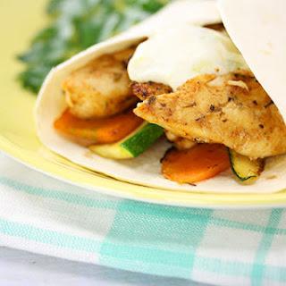 Cajun Chicken Wrap.