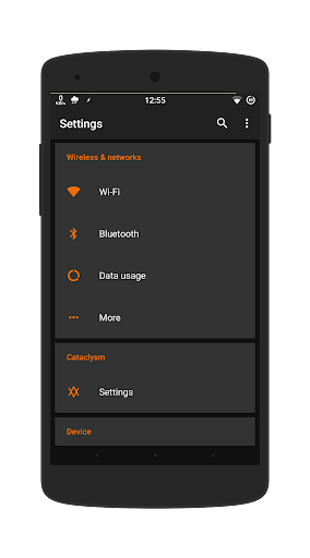 Dark Orange - Layers Theme