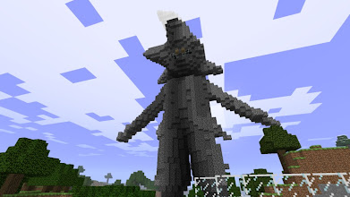 Photo: a statue of Gohan, built by mcaddict. Youtube video at: http://www.youtube.com/watch?v=jMk0_ryXfek