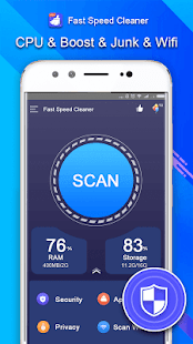 Fast Speed Cleaner - Virus Scan & Cleaner