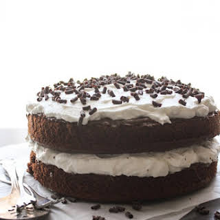 Nutella Chocolate Layer Cake.