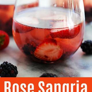 Rose Sangria.