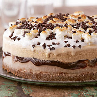 Grown-Up S'mores Torte