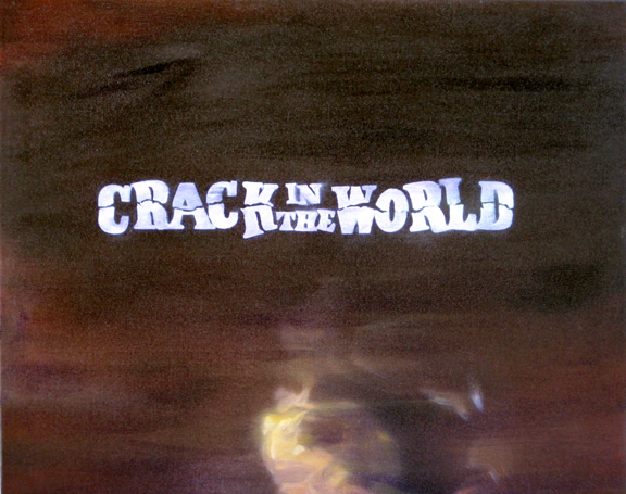 Photo: Crack World 2008 16 x 20 oil on canvas