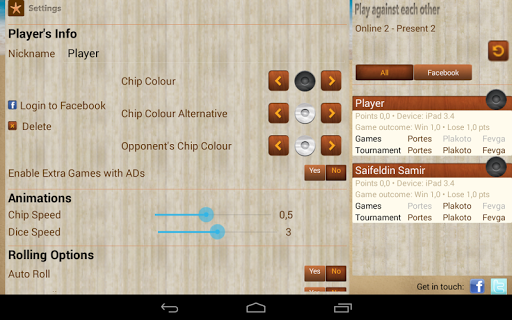 iTavli-All Backgammon games 4.9.3 screenshots 11