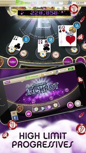 myVEGAS Blackjack 21 - Free Vegas Casino Card Game screenshot