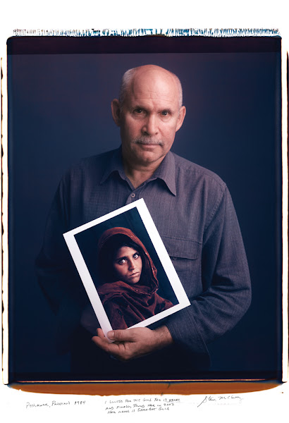 Photo: Peshawar, Pakistan 1984.  I looked for this girl for 17 years and finally found her in 2002.  Her name is Sharbat Gula. - Steve McCurry
