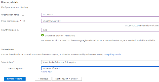 Setting Up Azure Active Directory B2C