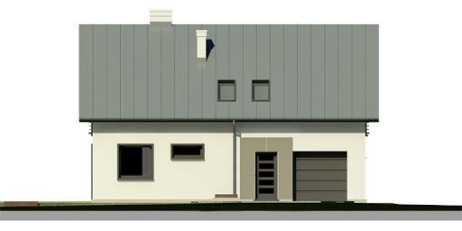 Dom przy Głogowej 3 - Elewacja przednia