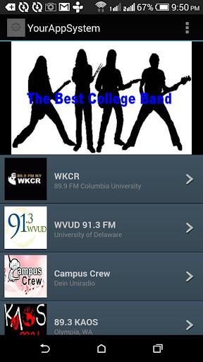 College Rock Radio Stations