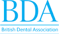 British Dental Association Logo that links to the website