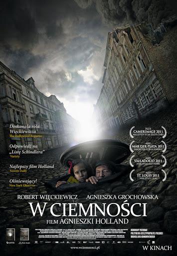 Polski plakat filmu 'W Ciemności'