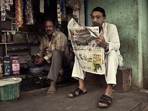 Photo: I love to go on early morning shoots, when life is still waking up at a leisurely pace, and I don't have to contend with the constant obstructions of crowds of people and vehicles. Mumbai, India www.michiel-delange.com