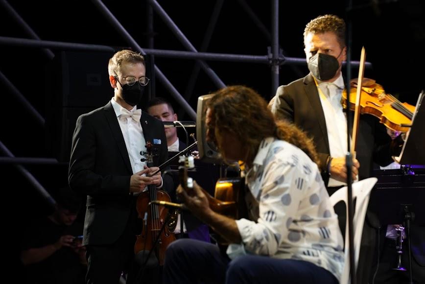 Tomatito interpretó el Concierto de Aranjuez.