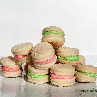 Cute Cream Wafers Sandwich Cookies