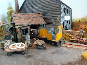 Photo: 020 The splendidly atmospheric workshop area on the 016.5 section of Brian Wilson's Gravel Bottom .