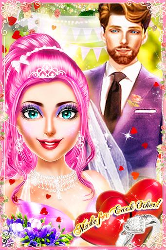 MakeUp Salon Princess Wedding - Girls Game