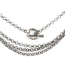Tim Holtz Assemblage Metal Chain - Gunmetal Loop