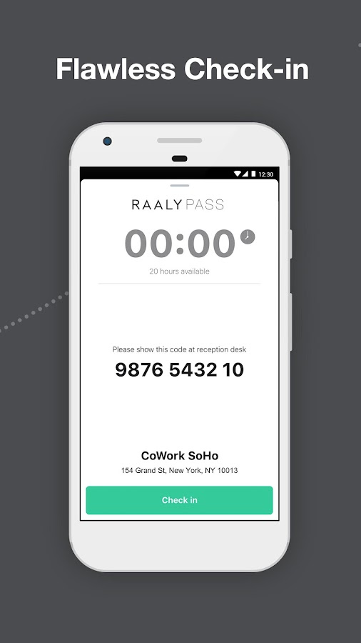 Raaly - Coworking on Demand- screenshot