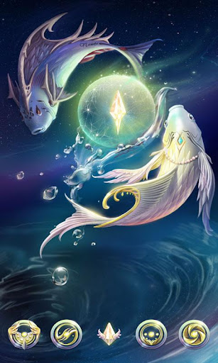 FREE Pisces GOLauncher Theme