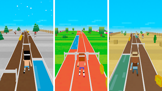 Retro Runners X2 - Endless Run- screenshot thumbnail