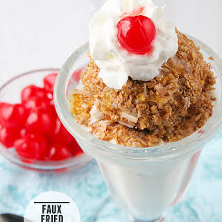 Faux Fried Ice Cream.